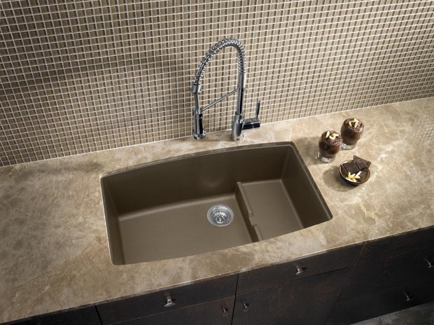 Blanco Sinks Website : Available in 7 classic colors including our new Truffle