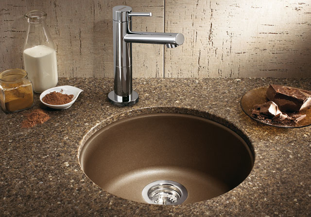 Blanco Rondo Bar Sink Silgranit Ii Blanco 511631