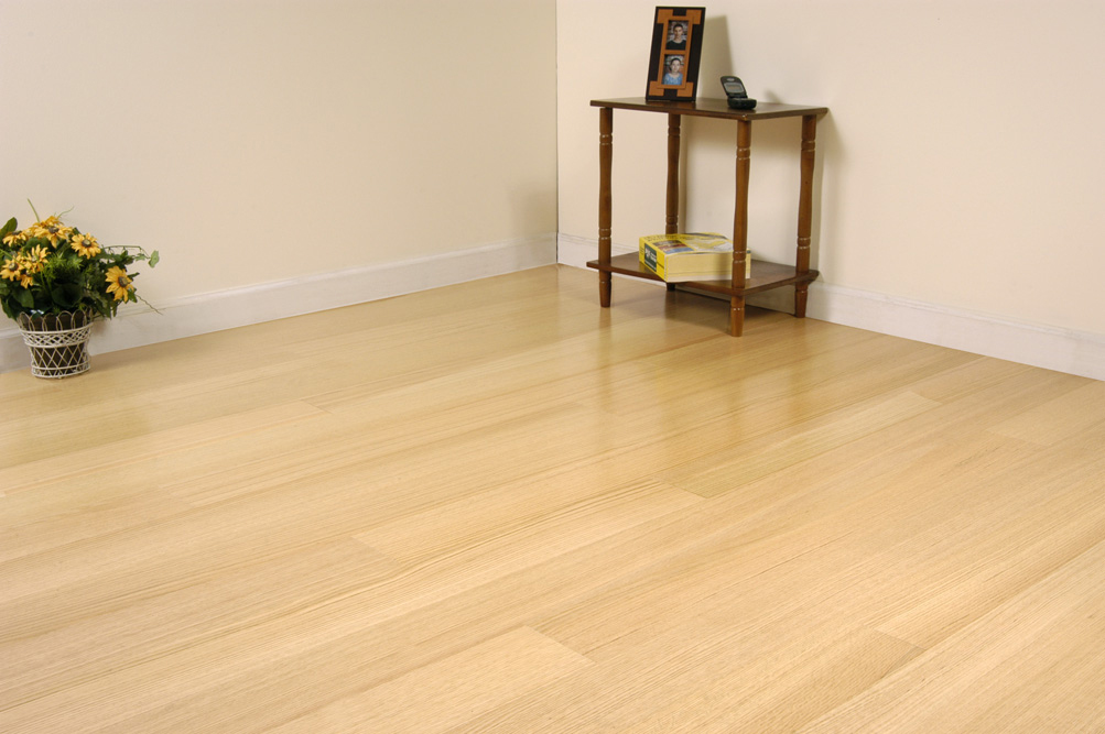 American red oak 3 and 5 bgreentoday for Unstained hardwood floors