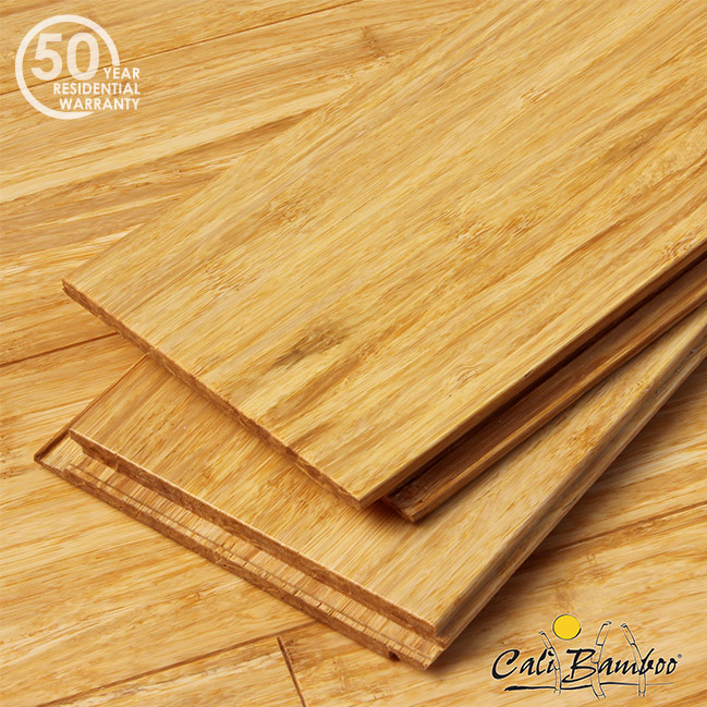 Natural Fossilized Wide Click Bamboo Flooring 7004002000