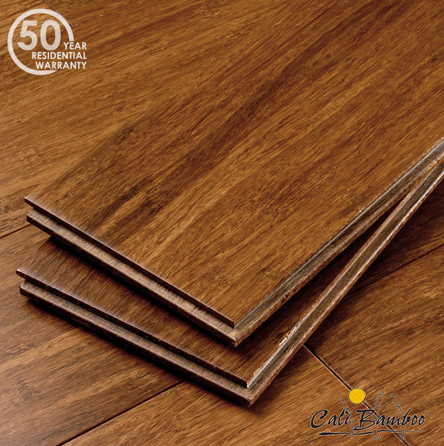 Java Fossilized Wide T&G Bamboo Flooring